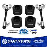 2 Complete Leveling Lift Kit + Compressor Tool For 93-98 Jeep Grand Cherokee Zj