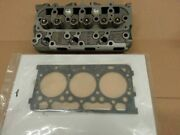Used Kubota Zd323 Cylinder Head W/valves Reconditioned And New Upper Gasket Set