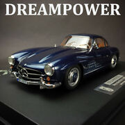 Rare Limited Resin Model Car Mercedes-benz 300sl 1956 Dreampower In 118