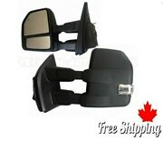 Towing Mirrors Side Mirror For Ford F150 2015 -2020 22 Pins Power Heated Signal