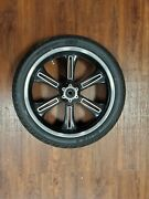 Victory Motorcycle Front Wheel And Tire