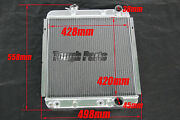 Kks 3 Rows Aluminum Radiator For Ford Mustang / 63 64 65 Falcon Comet Polished