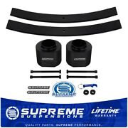 3 Front 2 Rear Leveling Lift Kit Leaf Isolator Pads For 84-01 Jeep Cherokee Xj