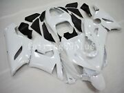Solid Pearl White Abs Plastic Injection Fairing Kit Fit For 636 Zx6r 2005 2006