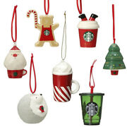 Special Complete Set+one Starbucks Japan Ornament Holiday 2019 F/s W/tracking