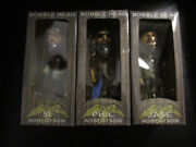 3 Duck Commander Duck Dynasty Robertson Bobbleheads-si-phil And Jase Nib