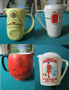 Advertising Gin Whickey Jugs Pitcher Macnish Mackinlay John Haig Beefeater Pick