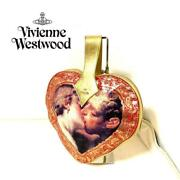 Vivienne Westwood Heart Hand Bag Hercules Gold Rare From Japan Free Shipping