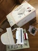 Hello Kitty Great Pianist Limited Edition 100 Built In 100 Songs F/s From Japan
