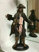 Pirates Of The Caribbean Jack Sparrow Figure Hot Toys Genuine Limited Movie F/s