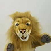 Lion Full Body Hand Puppet By Hansa Realistic Look Plush Animal Learning Toys