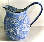 Stangl Blue Town And Country 8 2.5 Quart Pitcher