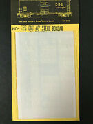 Cds Lettering Dry Transfers Ho Scale 126 Central Of New Jersey Boxcar Set New