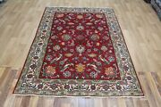 Old Handmade Persian Rug Great Design And Colour 200 X 143 Cm