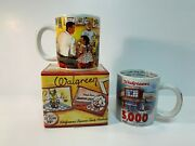 Lot Of 2 Walgreens Commemorative Mugs - 5000th Store And Soda Fountain Pop Classic