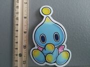 New Cute Blue Cool Chao Video Games Funny Vinyl Decal Sticker Car Laptop Meme