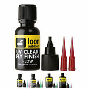 Loon Outdoors Uv Clear Finish Fly Tying For Fly Heads And Bodies - All Types