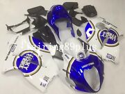 Blue White Lucky Strike Abs Injection Fairing Kit Fit For 1997-07 Gsxr1300 Gen1