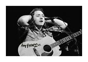 Rory Gallagher 1 A4 Reproduction Autograph Poster With Choice Of Frame