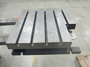 24 X 22 X 6.25 Steel Weld T-slotted Table Cast Iron Layout Plate 5 Slot