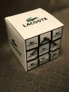 Lacoste Crocodile Sneaker Pattern Rubiks Cube Reptiles Toy Game Puzzle Novelty