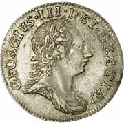 [485503] Coin, Great Britain, George Iii, 3 Pence, 1762, Ef, Silver, Km591