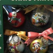 Disney Micky And His Friends Tdl Disneyland 35th Anniversary Christmas Ornament