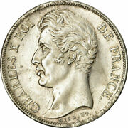 [485736] Coin France Charles X 2 Francs 1827 Bordeaux Ms Silver