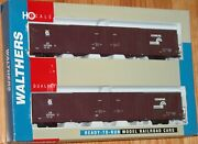 Walthers 932-23507 Pullman Standard 86and039 Hi-cube Boxcar 4 Door 2-pack Conrail Cr