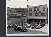Vintage 1950and039s Noxema Factory Dedication 8x10 B/w Photo