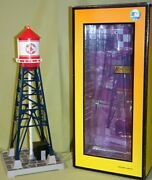 Mth 30-90144 Boston Red Sox 193 Industrial Water Tower W/ Beacon, Wks W/ Lionel