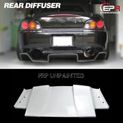 For Honda S2000 Ap1 Ap2 Sp Style Frp Wide Body Rear Bumper Diffuser Wing Kits