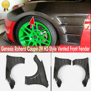 Epr For 09-16 Hyundai Genesis Rohens Coupe H2-style Carbon Vented Front Fender