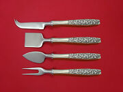 Contessina By Towle Sterling Silver Cheese Serving Set 4pc Hhws Custom