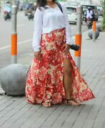 Free People Forever Young Xs Floral Wrap Maxi Skirt Andpound75