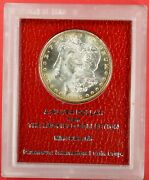 1889 S Morgan Redfield Collection Hoard 90 Silver Coin Gem Bu Scarce Date