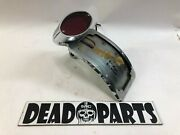 Harley Side Mount Led Cat Eye Catseye Vertical Taillamp License Plate Arched