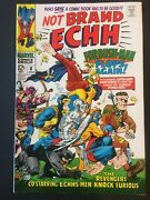 Not Brand Echh. No.8. Silver Age Marvel Madness. Beatles Cameo. Kirby-art. Vfn