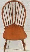 Four Nichols And Stone Windsor Antique Dining Chairs