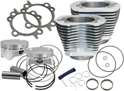 S And S Cycle 910-0650 Bolt-in Sidewinder 4 Big Bore Kit Harley 07-17 Tc 110