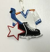 Personalized Christmas Ornaments-sports- Hockey, Volleyball, Tennis