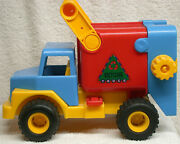 Wader Germany Recycling Garbage Truck - Rubber Tires 10 Mini Version Of Ride-on