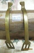 Star Marked Modified Hammer Head Solid Brass Riding Military Riding Spurs
