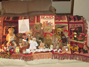 Vintage Teddy Bears And More For Christmas Family Owned Displayed Not Used 1950-90