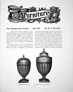 Old Antique Print Furniture The Hepplewhite Period Part Iiipages 1905
