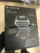 Logitech G13 Advanced Gameboard Gamepad Mouse Game Panel Lcd A3g