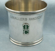 And Co.-1976 Caballero Handicap Torophy Sterling Julep Cup Sandy Hawley