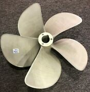 Reconditioned Balanced 5 Blade 29 X 40 Pitch Left Hand Nibral Boat Propeller