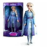 In Hand New Elsa Limited Edition Of 6800 Disney Store Doll Andndash Frozen 2 Andndash 17and039and039