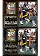 Rod Woodson 26 Pittsburgh Steelers Photo Card Plaque